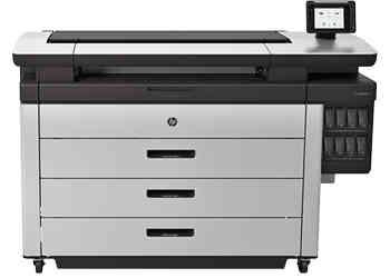 彩色激光宽幅打印机-HP PageWide XL 5000